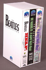 The Beatles Movies Box Set-VHS-3 Movies-Help/Hard Days Night/Making Of-Rock Roll