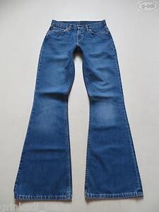 Levi-039-s-544-Schlag-Jeans-Hose-W-28-L-36-flared-Vintage-Schlaghose-Extra-Lang
