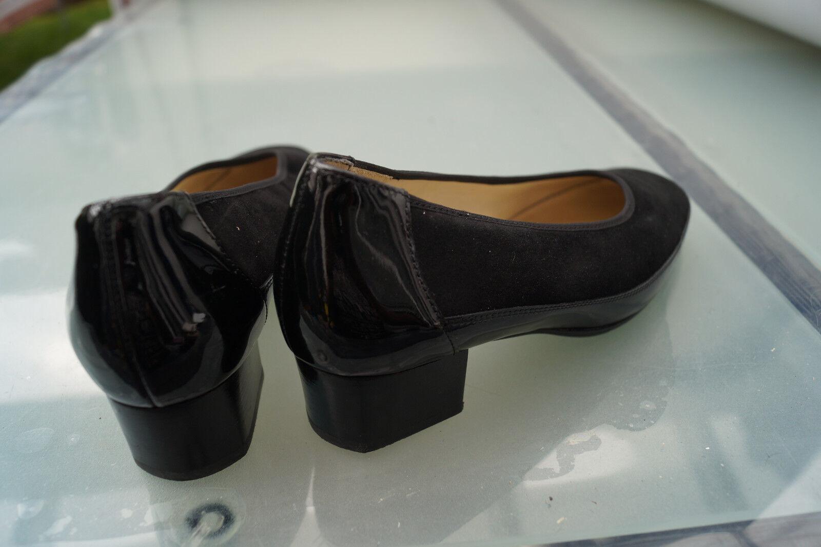 Hassia evelyn Damen Damen Damen Comfort Schuhe Pumps Einlagen Gr.3,5 / 36 schwarz Leder #52 a2e113