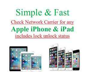 check iphone unlock status apple iphone amp network carrier lock unlock status 9012