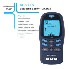 Elettrostimolatore Globus Duo Pro G3466-35 Programmi