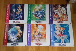 6-LD-Laserdisc-Macross-II-2-anime-manga-laser-disc-JP