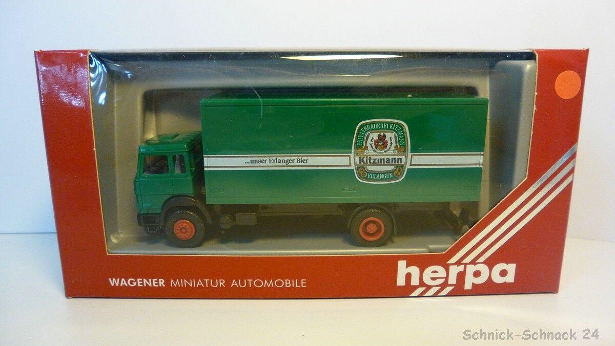 """Herpa 1 87 858008 Iveco maleta-camión """"cervecería kitzmann""""  25746 25746 25746   las mejores marcas venden barato"""