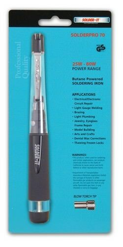 Solder It PRO-70 Deluxe 2 in 1 2450F Butane Pencil Torch