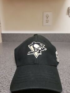 011d126b5a3cf Image is loading Cap-NHL-Pittsburgh-Penguins-Curved-V-Struct-Stretch-