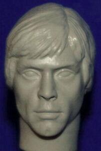 1//6 SCALE CUSTOM MARK HAMILL LUKE SKYWALKER SIDESHOW ACTION FIGURE HEAD!