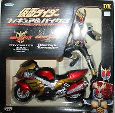 Masked Rider Kamen Figure & Bike Machine Tornader Agito 2001 Banpresto