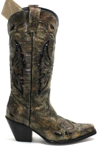 30 Stivali da Cowboy Texas Rudel Catalano Stile Stivali Moda 38