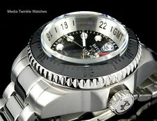 NEW Invicta Reserve 52mm HYDROMAX Swiss Quartz GMT Black Dial Bracelet Watch