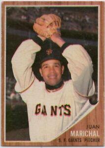 1962-Topps-505-Juan-Marichal-VG-VGEX-Wrinkle-San-Francisco-Giants-FREE-SHIPPING