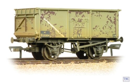 37-253B Bachmann OO//HO Gauge 16 Ton Steel Mineral Wagon BR Grey Weathered