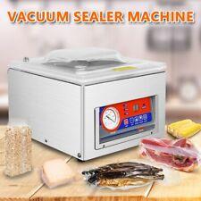 Table Top Chamber Vacuum Sealer Digital Vacuum Packing Sealing Machine 120w 110v