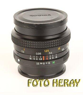 100% Kwaliteit Konica Hexar Ar 28 Mm 3,5 Sehr Guter Zustand 58964
