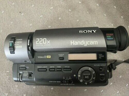 SONY Handycam Video 8 XR CCD-TR512E
