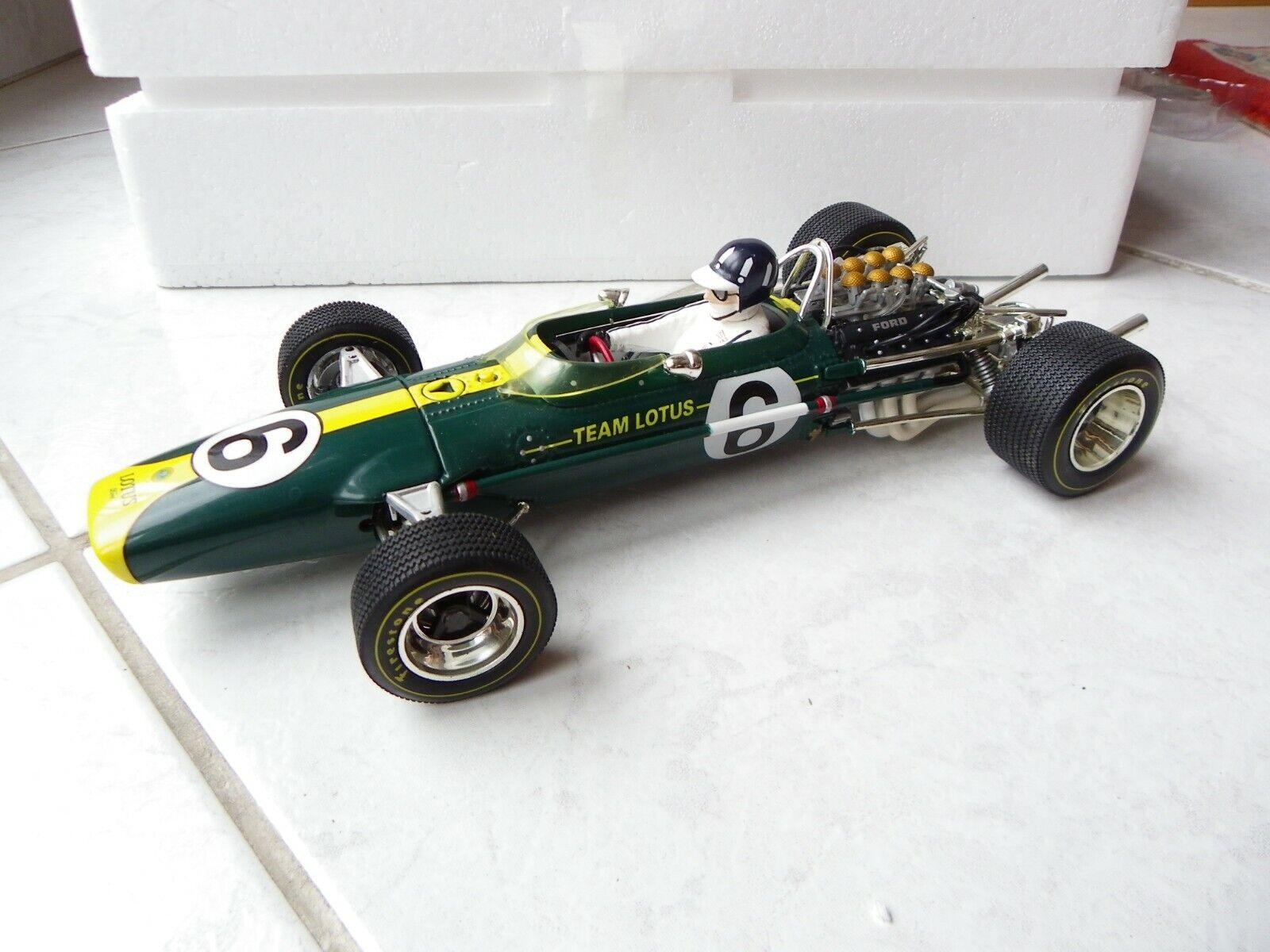 Masseus Ford 49 Graham Hill Dutch GP  6 1967 1 18 Quartzo Formule 1 F1