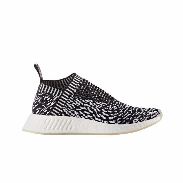d5339ef75 Mens adidas NMD Cs2 Primeknit City Sock 2 Sashiko Core Black White By3012  US 9