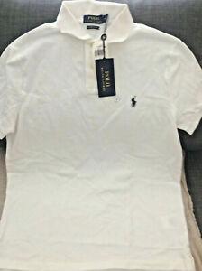 Details about Polo Ralph Lauren custom slim fit .The Original Polo Shirt Men's Size M .white