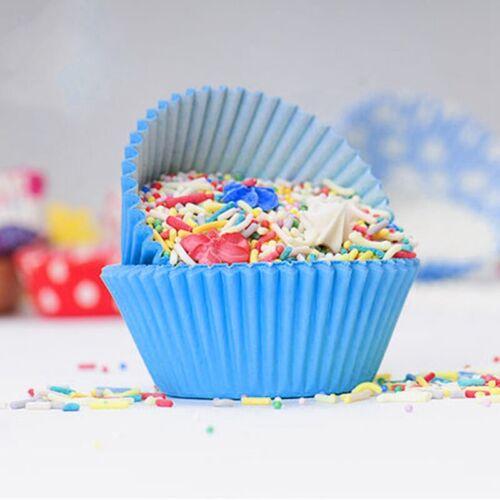 100pcs gâteau tasse Cupcake Baking Moule muffin emballage papier Liner Anniversaire À faire soi-même Outil