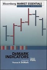 Bloomberg Financial Ser.: DeMark Indicators 40 by Jason Perl (2008, Hardcover)
