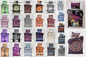 Mandala-Indian-Duvet-Doona-Cover-Throw-Boho-Quilt-Cover-Bohemian-Twin-Bedding