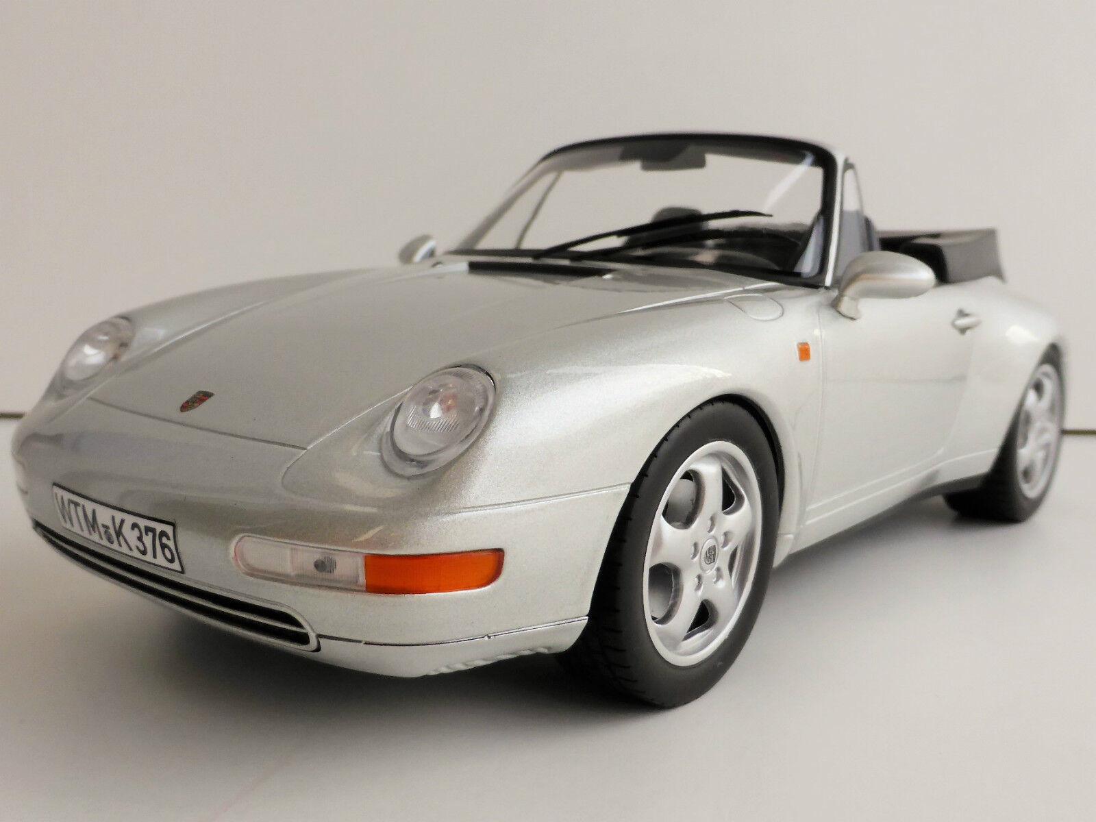 PORSCHE 911 CARRERA CABRIOLET 1993 1 18 NOREV 187592 993 Convertible Cabriolet
