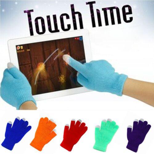Doux Magique écran Tactile Gants textos capacitif Smartphone Chaud Hiver Tricot