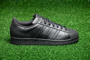 reputable site 9ae1d dc89c Details about ADIDAS SUPERSTAR FOUNDATION SHELLTOES AF5666 CORE BLACK -  TRIPLE ALL BLACK