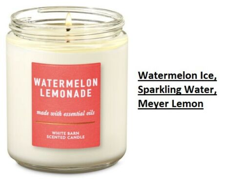 BATH AND BODY WORKS SINGLE WICK SCENTED CANDLE 7 OZ WORLD SHIPPING CHEAP SHIP
