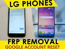 Remote Google Account Removal / Reset FRP For LG G4/G5/K3/K7