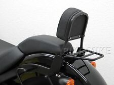 Sissybar+ Portapacchi Schienale nero Harley Davidson Softail Slim FLS 2012