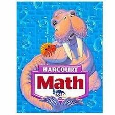 Harcourt School Publishers Math 3rd Grade Level 3 Student Edition 2007 Textbook