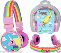 Lady Rainicorn Over-ear Headphones Licensed adventure Time Item Free Ship