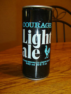 Courage Light Ale London 15.5 Old  Steel Beer Can