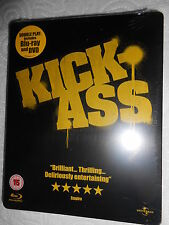KICKASS BLU-RAY EXCLUSIVE STEELBOOK LIMITED EDITION - RARE BRAND NEW SEALED