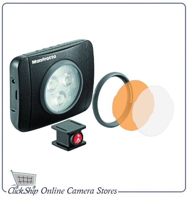 Manfrotto Lumie Muse 3 Diodes (Play) On-Camera LED Light Black Mfr # MLUMIEPL-BK