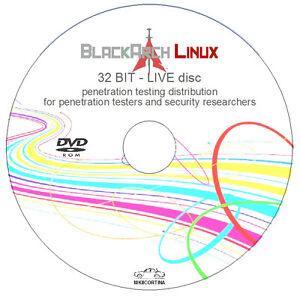 Details about Black Arch Linux - 32 bit Live Disc - Penetration Testing  Distribution