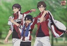 The prince of tennis poster promo 2-side Echizen Ryoma Tezuka Kunimitsu anime