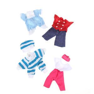 5set-Cute-Handmade-Clothes-Dress-For-Dolls-Mini-Mini-Outfit-Gift-KQ
