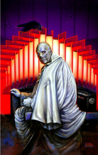 ABOMINABLE DR CLASSIC HORROR MOVIES VINCENT PRICE PHIBES POSTER ART PRINT
