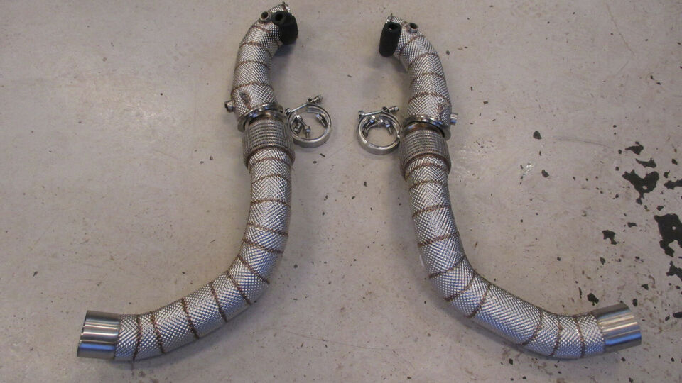 BMW M5 Downpipes