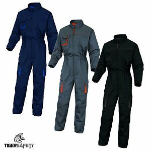 Delta-Plus-Panoply-M2CO2-Mach2-Mens-Kneepad-Work-Overalls-Coveralls-Boilersuit