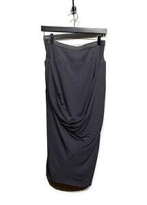 Rick-Owens-Brown-Mushroom-Silk-Skirt-with-Draped-Detail