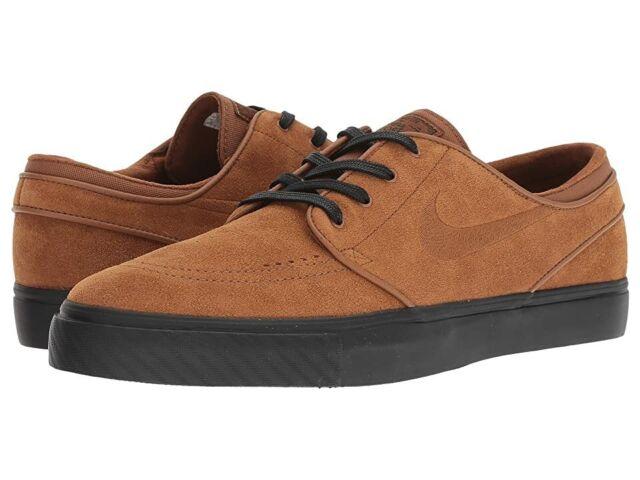 Ídolo Típicamente Artefacto  Mens Nike SB Zoom Stefan Janoski Size 11 Brown Black Skateboarding Shoes  for sale online | eBay