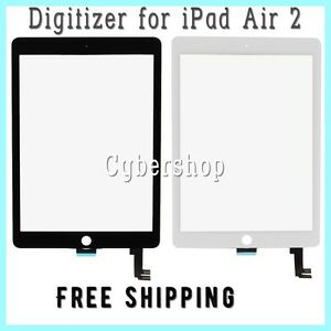 Glass Touch Screen Digitizer Replacement For iPad Air 2 A1566 A1567 ... cff0576efd1bc