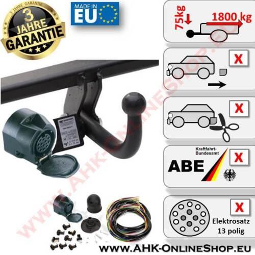 2003-01.2008 Schrägheck Anhängerkupplung GG Bj E-Satz 13 polig Mazda 6 AHK
