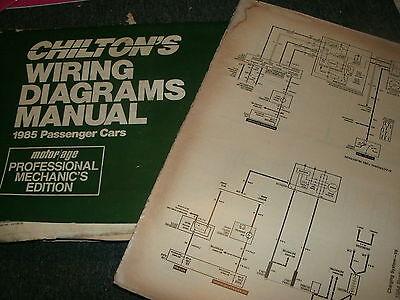 1985 chrysler lebaron new yorker dodge 600 plymouth caravelle wiring  diagrams | ebay  ebay