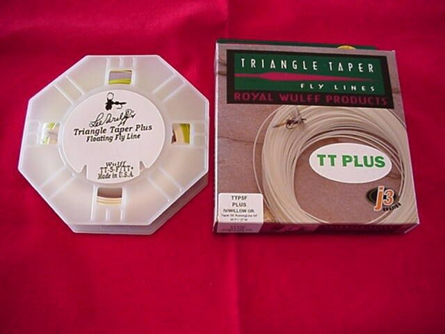 Royal Wulff nuovo Triangle Taper II PLUS Fly Line 2 Tone  3 GREAT nuovo