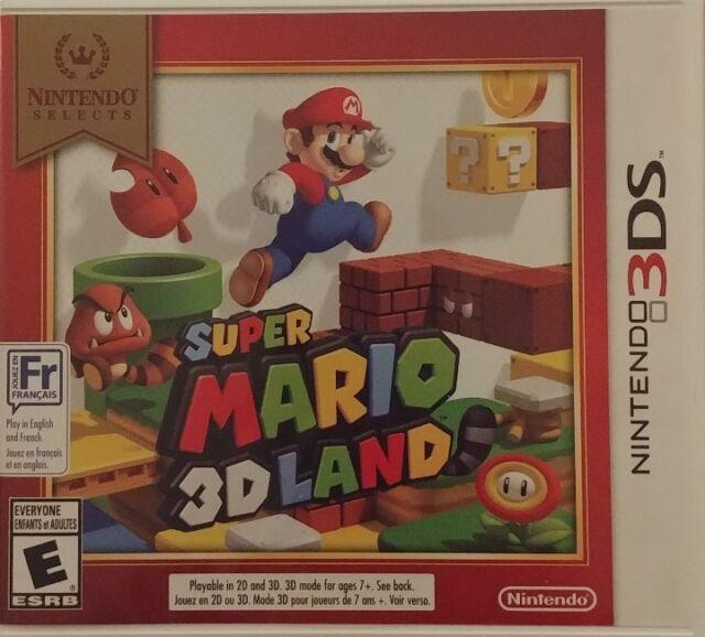 Super Mario 3D Land 3DS Nintendo Selects