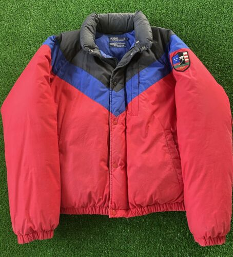 VTG 80s 90s Polo Ralph Lauren Suicide Skier Puffe… - image 1
