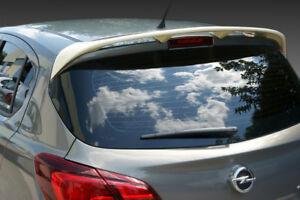 Opel Vauxhall Corsa E 5d Rear Wing Roof Spoiler Pu Quality Unprimed Ebay
